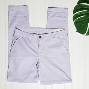 NWT Gap | Purple Broken-In Straight Pants | 0